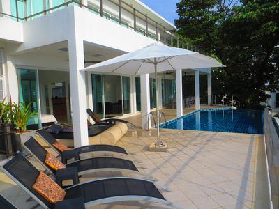 Photo for Villa Ginborn 5 bedroom poolvilla with stunning views over ocean, town, mountain