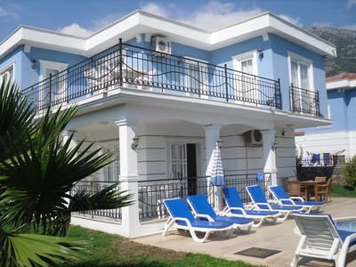 Photo for A large 3 bed detached villa with its own private infinity pool.