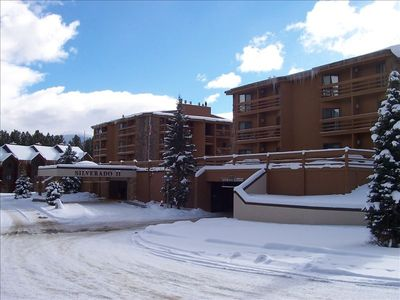 Photo for Family ski condo. Pool, Hot Tubs, Wifi, on main shuttle route.
