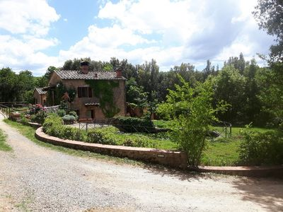 Photo for For groups near Siena: Exclusive Tuscan Farm with Pool Olivegroves Pony Wifi 16P