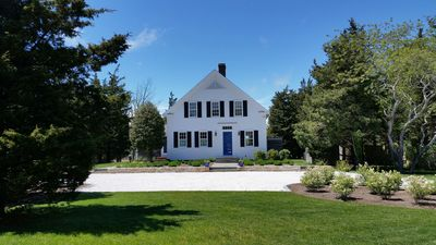 Photo for Lovely Greek Revival with wonderful marsh and water views