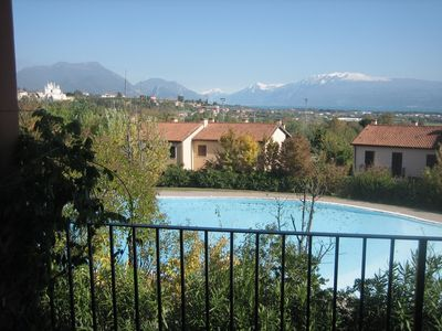Photo for Holiday apartment with balcony and outdoor pool