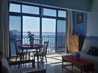 Photo for Nice apartment with spectacular sea views