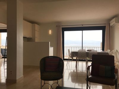 Photo for Air-conditioned apartment, near beach and shops, quiet, residential area