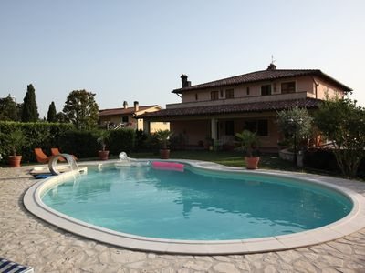 Photo for Apartment In Italian Home's Family With Swimming Pool