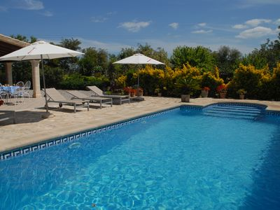 Photo for LOVELY COUNTRY HOUSE, LOCATED BETWEEN  POLLENSA AND PUERTO ALCUDIA. WITH WIFI