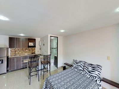 Photo for Dog-friendly studio within walking distance to dining, shopping, & parks