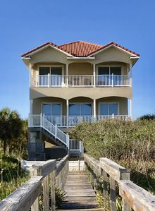 Photo for Seashells by the Seashore - 5BR 5 BTH BEACHFRONT House w/ Private Pool and boardwalk to the beach!