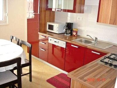 Photo for Comfortable apartment in Umag, with 3 rooms, balcony with sea view, parking