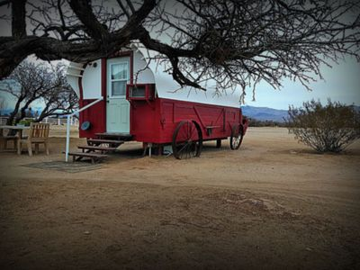 Photo for Covered Wagon /Near Death Valley on Dude Ranch
