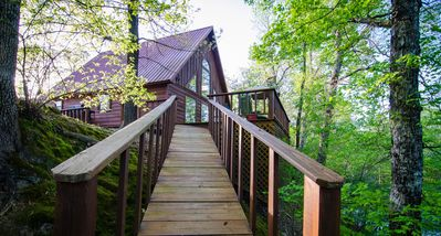 Photo for Burgundy on the River - Sleeps 4, Wifi, Riverfront