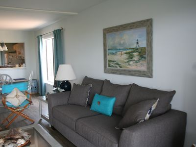 Photo for NEWLY RENOVATED, corner unit with DIRECT BEACH ACCESS, family friendly, Wi-Fi