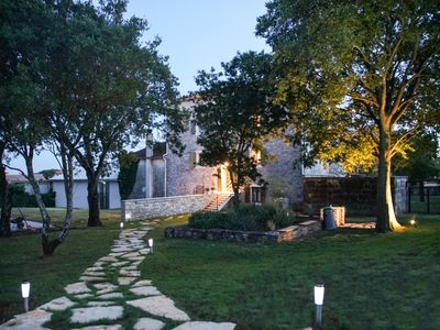 Photo for Romantic and newly restored istrian stone house