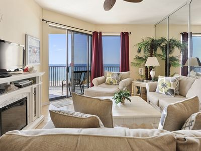 Photo for Beachfront Condo | Amazing Sunrise Views of Ocean | My Beach Getaways