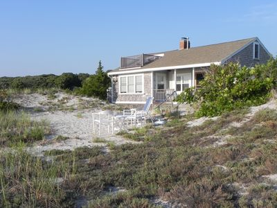 Photo for A  Family or Honeymoon Cottage In The Dunes with 200 feet of Private Beach