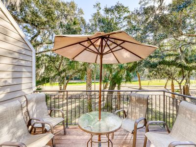 Photo for Spacious villa with golf course views, beach club access, and more!