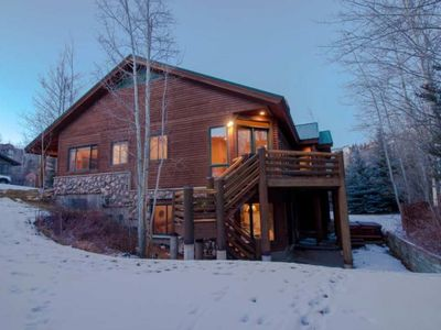 Photo for Snowcloud 6BD - Deer Valley Log Haven Sleeps 18