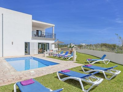 Photo for VILLA SMCD-MAG, CALA D'OR - 3 Bedrooms, Private Pool, WiFi, A/C, BBQ