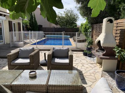 Photo for Perfect family-friendly holiday home with heated pool and lots of outdoor space.