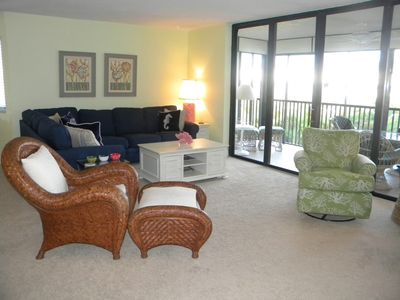 Photo for Compass Point #212 Updated and Clean Weekly beachside condo rental, pool, tennis, on bike paths
