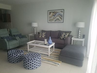 Photo for F103 Blue Beach Punta Cana Two Bedroom Condo Sleep 7