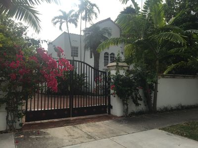 Photo for SOUTH BEACH VILLA 3 bedroom  /pool walking distance SOBE best