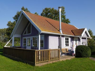 "Photo for Scandinavian holiday home near the beach, holiday in ""lila"" for up to 6 persons"