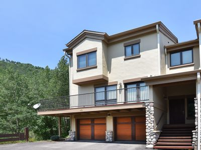 Photo for Airy Townhome in Vail w/ Beautiful Views, Modern Decor, Short Drive to Slopes