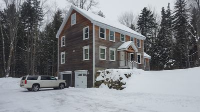 Photo for Winter Special! w 5 Brm,  2 Mstr Suites, Firepit, Sled Hill, 5 Acre, Stream Priv