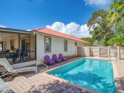 Photo for New Listing! Lovely Vilano Beach Home w/ Pool, Game Room & Boat Parking