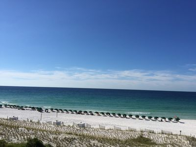 Beach View from Balcony