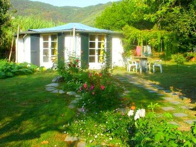 Photo for Lovely Chalet in Ameglia with Terrace, Garden & Parking