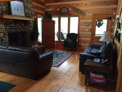 Photo for Moose Creek Cabin (of Wright Cabins) Townsend Tenn Smokies Secluded private