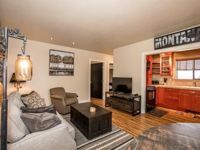Photo for Sparkling Clean Downtown Whitefish 2 Bed/ 1 Bath