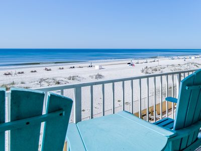 Photo for Waterfront condo w/ shared pool, private balcony, & beach access