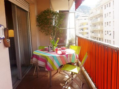 Photo for One bedroom Apartment, sleeps 4 in Nice with Air Con and WiFi