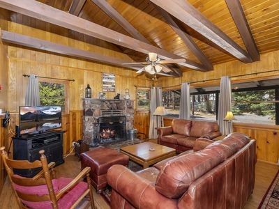 Photo for Sugar Bear: Walk to the Village! Pet Friendly! Stay Connected with WiFi! Propane BBQ!