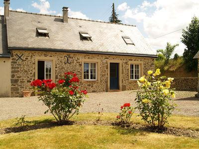 Photo for Fully furnished, comfortable country house with large garden and stunning views.
