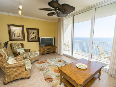 Photo for Beach Front Condo in Tidewater Beach Resort. Access to All Resort Amenities! Close to Pier Park