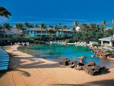 Photo for Point at Poipu Two bedroom villa. Luxury, gorgeous grounds and Beach!