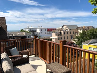 Photo for Historic District With Ocean View Roof Deck - 1/2 Block to Beach and Shopping