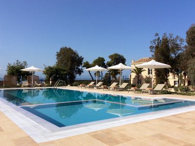 Photo for Villa Vithania, a heritage listed, luxury home in Aegina.
