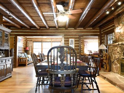 Photo for Historic Lodge at Rocky Creek - Sleeps 16
