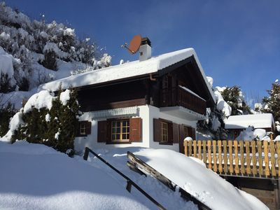 Photo for Chalet 6 people / Panoramic View / Great comfort / Peaceful