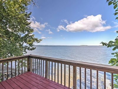 Photo for Quaint Georgia Cottage w/Deck on Lake Champlain!