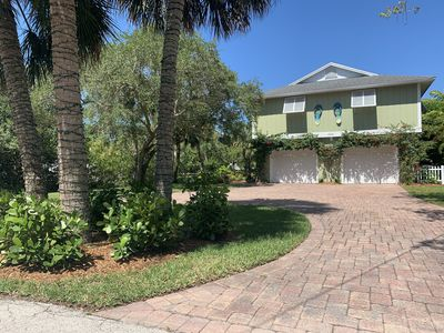 Photo for Flip Flops - Walk to the beach! Beautiful 3 bedroom, 2 bathroom home on a canal