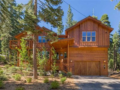 Photo for In the Wild Woods: 4 BR / 2.5 BA four bedrooms in Tahoe Vista, Sleeps 11
