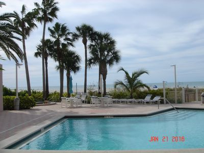 Photo for Beachfront condo on the elegant Sand Key portion of beautiful Clearwater Beach