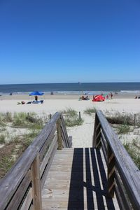 Photo for Almost Heaven Oceanfront B Great Beach & Pier View Free WIFI Pet Friendly
