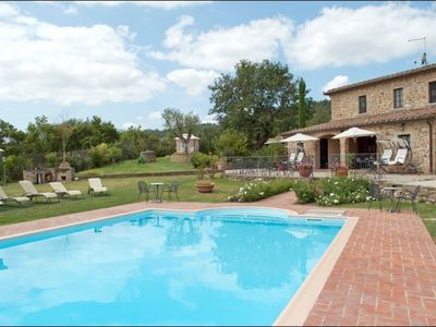 Photo for 8BR House Vacation Rental in Civitella in Val di Chiana, Toscana